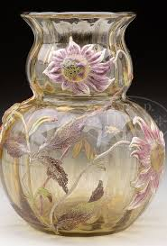 Galle Vase 1670 Best Emile Galle Furniture Ceramics Glassware Images On