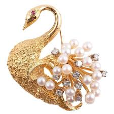 art deco svan ring holder images 159 best swan images swans swan jewelry and brooches jpg
