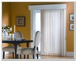 Curtains For Sliding Glass Door Wonderful Sliding Glass Door Curtain Rod Installing