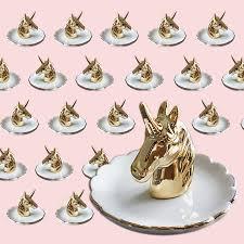 ceramic unicorn ring holder images Decorative golden unicorn porcelain plate ring plate rings holder jpg