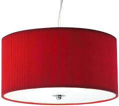 Drum Light Pendant Dar Zaragoza Small Modern 3 Light Pendant 40cm Drum Zar1025