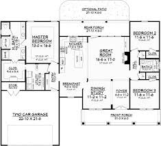 Eplans Home Plan Relaxed Ranch With An Extra Wide Porch Startribune Com