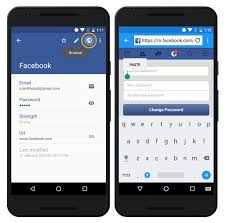 change password on android phone changing a website s password enpass android user manual 5 5 1
