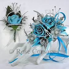 Turquoise Corsage 33 Best Corsage Images On Pinterest Prom Flowers Prom Corsage