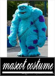 Sully Halloween Costume Adults Professional Sully Mascot Head Costume Halloween Christmas