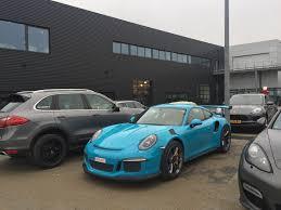 miami blue porsche gt3 rs porsche 991 gt3 rs
