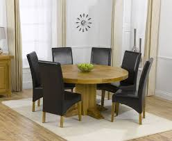 solid oak round dining table 6 chairs round oak dining table for 6 dining room table round table 6 to