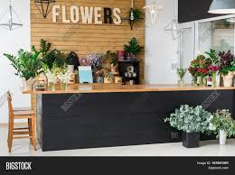 Reception Desk Sale by Small Business Modern Flower Shop Interior Reception Desk