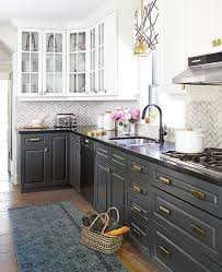 Painters For Kitchen Cabinets Best 25 Black Kitchen Cabinets Ideas On Pinterest Gold Kitchen