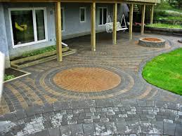 Patio Designs Using Pavers Backyard Pavers Ideas Home Outdoor Decoration