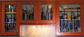 Decorative Glass For Kitchen Cabinets by Step By How To Change Wood Cabinet Doors Glass Insert Tocabinet