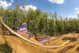 motocross mountain bike history of the nitro circus fmx triple backflip video