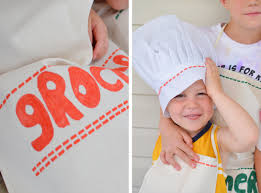 dress up for kids diy personalized chef aprons and hats