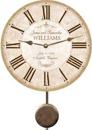 personalized anniversary clocks anniversary clock personalized anniversary clock