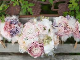 wedding flower bouquets silk wedding flowers vs fresh silk wedding flower benefits