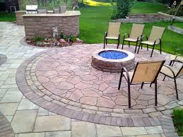 Ideas For My Backyard Patio Ideas Stone Patio Designs With Fire Pit Home Citizen Ideas