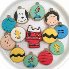 val u0027s baking station charlie brown christmas ornaments decorated