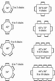 Seat Dining Table Dimensions Ebizby Design - Kitchen table sizes