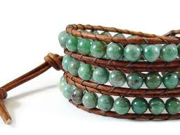 bead bracelet styles images African jade leather wrap bracelet beaded bracelet wrap bracelet jpg