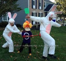rayman and raving rabbids family costume halloween costume