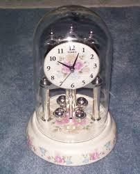 rhythm quartz musical motion anniversary clock no 4rh678 made in