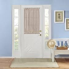 Amazon Door Curtains Front Door Curtain Amazon Com
