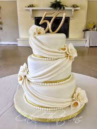 golden wedding cakes cake that inc 50th wedding anniversary