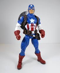 captain america shield light target marvel legends ms marvel captain america and radioactive man