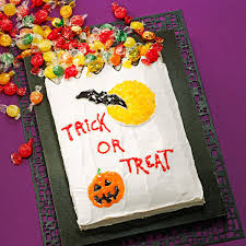 trick or treat cake recipe taste of home