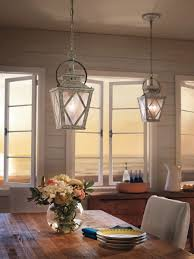 Kichler Lighting Lights by 2 Light Pendant 43258daw Distressed Antique White Hayman Bay