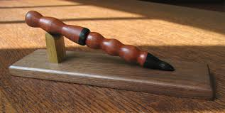 Handcrafted Wooden Pens - bloodwood and wood pen uno woodworks