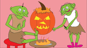 Funny Halloween Poems Goblins Trick Or Treat Halloween Kids Subtitles Youtube