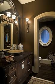 chocolate brown bathroom ideas looking chocolate brown bathroom bathroomte window curtains