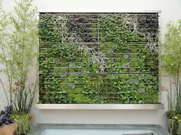 wall garden is the best idea for saving some space