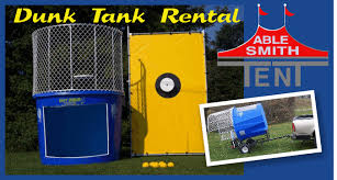 dunk tanks dunk tanks syracuse party rentals syracuse tent rentals able