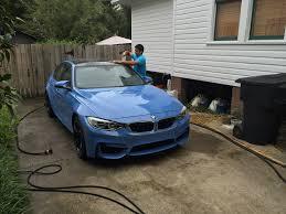 Bmw M3 Blue - 2015 bmw m3 opticoat treatment pensacola auto spapensacola auto spa