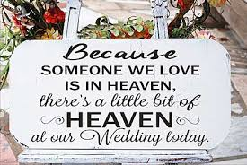 wedding memorial sign wedding stencils memorial signs design 2 because someone we