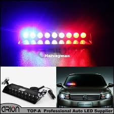 golf cart led strobe lights 27w windshield led strobe light s9 viper car flash signal emergency