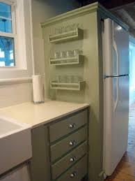 Ikea Racks Diy Spice Rack Easy Access Doesn U0027t Take Up Room In The Cupboards