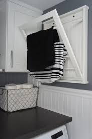 Drying Racks For Laundry Room - laundry room fold down laundry drying rack photo laundry room