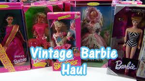 barbie cars from the 90s vintage 80 u0027s u0026 90 u0027s barbie skipper and more haul youtube