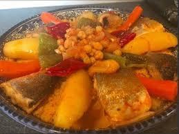 cuisine tunisienne poisson couscous au poisson et légumes كسكسي بلحوت cuisine