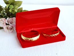 bangle bracelet box images Superior red velvet two bracelet box gift jewelry packaging boxes jpg