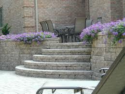 Garden Retaining Wall Blocks by Landscape Block Retaining Wall Steps Retaining Wall Ideas