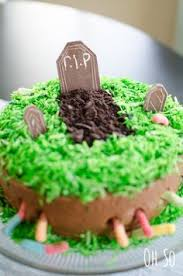 haunted graveyard cake recipe u want yards and dbs