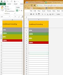 cell borders disappear when g sheet is downloaded as excel