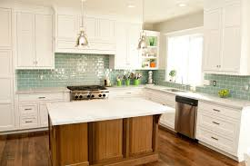 tiles backsplash yellow kitchens with white cabinets pre painted
