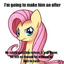 Mlp Fluttershy Meme - don fluttershy my little pony friendship is magic know your meme