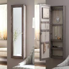 jewelry armoire plans wall mount jewelry armoire mirror mirror design