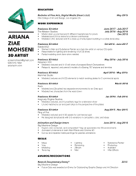 sample resumes 2014 matte painter sample resume resume examples it mind mapping for matte painting artist resume webforfreakscom arianaziaemohseni resume 17 matte painting artist resume matte painter sample resume